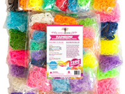 Mega Loom Bands Refill by Rainbow Braid